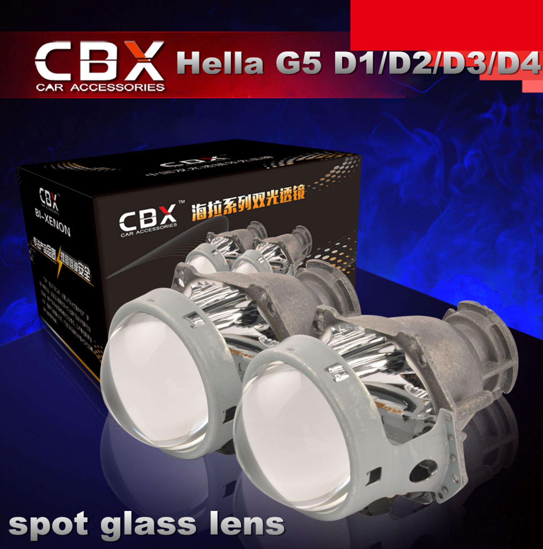 Domestic 3 Inches Bi xenon Projector Lens Hella Gen 5 D1S D2S D2H D3S D4S Bulb