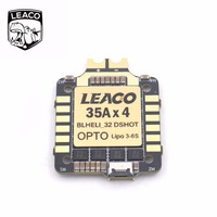 LEACO Typhoon32 V2 4in1 ESC 4x35A With 30 5x30 5mm Mounting Holes Supports DSHOT 1200 BLHELI32