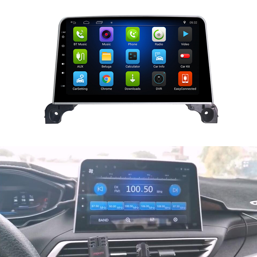 Free Shipping Elanmey Android 8.1 Car Multimedia For Peugeot 4008 3008 5008 10.1