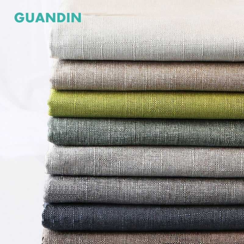 GUANDIN,Cotton Linen Fabric For Handmade Hometextile Cloth For Table Cloth,Curtain,Cushion Furniture Cover Material Half Meter