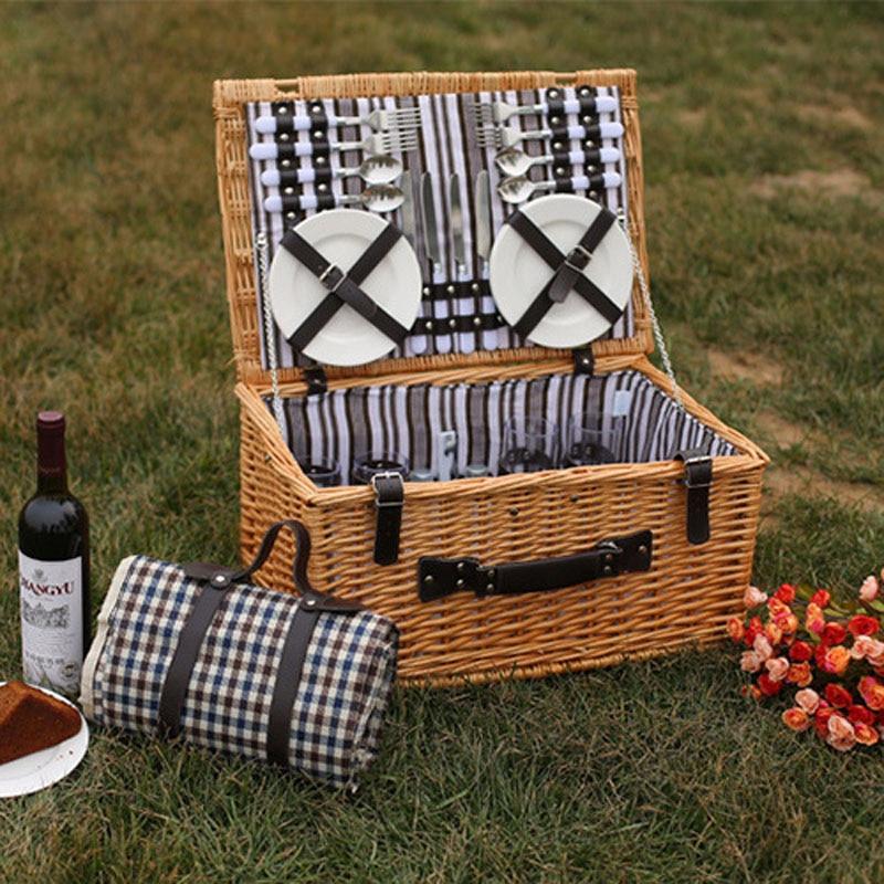 Корзины для пикника на открытом - Организация и хранения в доме - Фотография 2