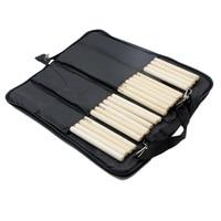 Homeland Durable Gigbag Black Nylon Drumstick Bag Beater Mallet Brush Drum Stick Storage Shoulder Case Bag