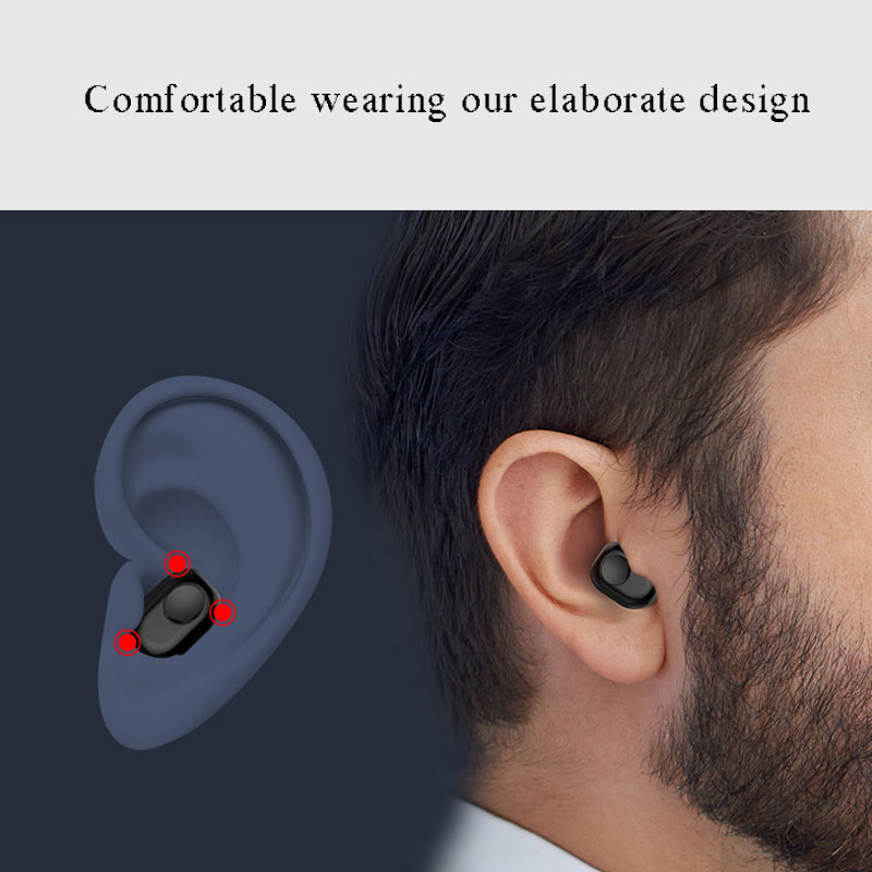 Mini Pea Style Bluetooth 4 2 Headset Wireless Music Earphone Phone Call Headphone for Huawei Samsung