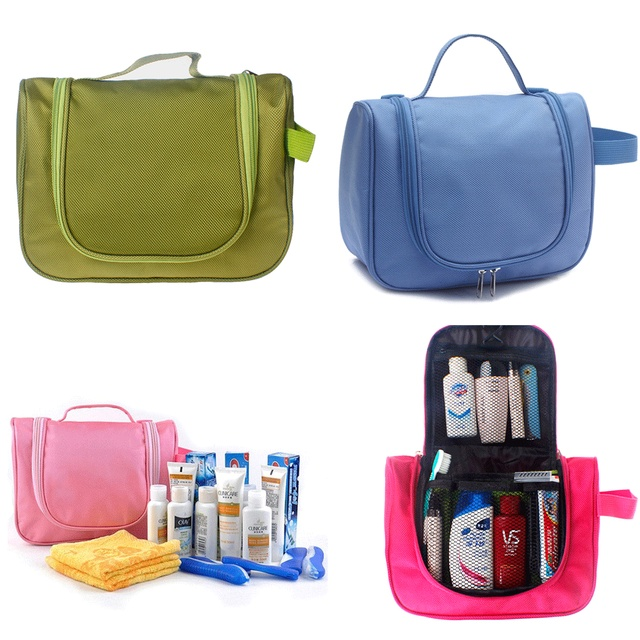 Multifunction Portable Waterproof Travel Hanging Toiletry Bathroom Bag Organizer Cosmetic Makeup Pouch Large Capacity