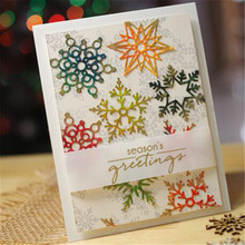 Eastshape Snowflake Metal Cutting Dies New Arrival Scrapbooking for Making Cards Album Decorative Embossing DIY Crafts Stencils