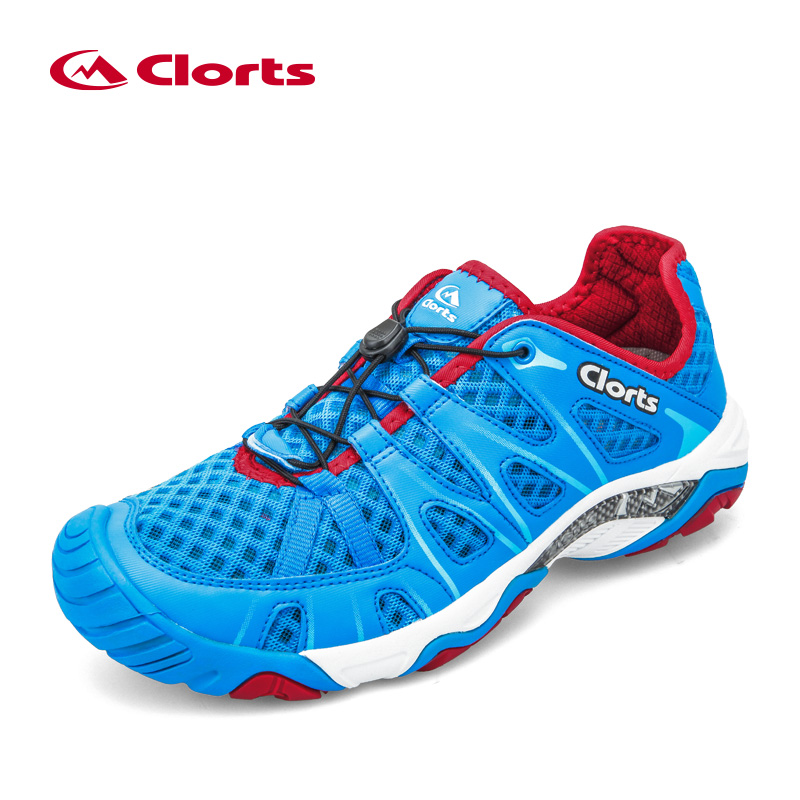 2018 Clorts Men Women Summer Water Shoes PU Air Mesh New Arrival Wading Shoes Breathable Sport Aqua Sneakers 3H025 2017brand sport mesh men running shoes athletic sneakers air breath increased within zapatillas deportivas trainers couple shoes