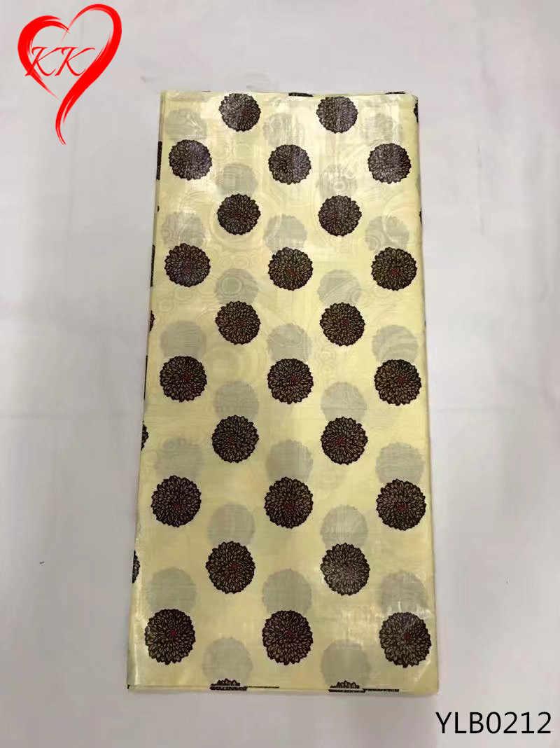 Beautifical Bazin Chất Vải 100% Cotton Bazin Riche Getzner Châu Phi Bazin Riche Vải Dành Cho Nữ Áo YLB0207-YLB0212