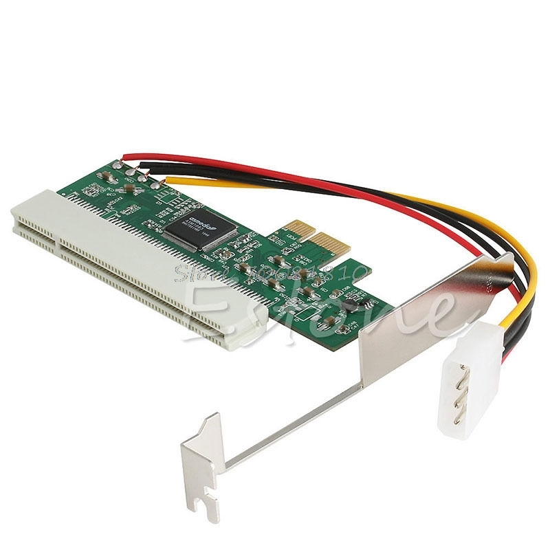 PCI-Express PCI-E To PCI Bus Riser Card High Efficiency Adapter Converter  Drop Shipping