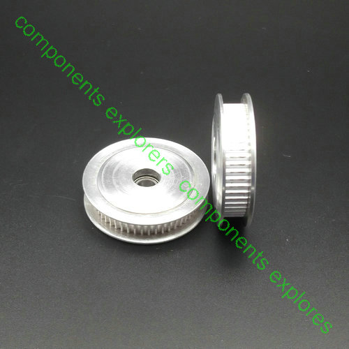 GT2/2GT Idler Timing Pulley(pulleys with bearing):50 teeth,5mm bore for 6mm width belts with one 695ZZ ball bearing powge 8pcs 20 teeth gt2 timing pulley bore 5mm 6mm 6 35mm 8mm 5meters width 6mm gt2 synchronous 2gt belt 2gt 20teeth 20t