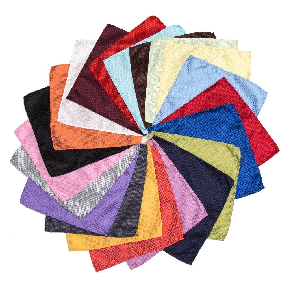 Fashion Handkerchief Bow Ties Solid Cravat Butterfly Pocket Children Men Women Casual Cravat Gifts Tie