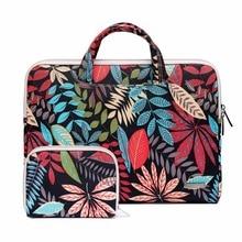 Patter Tragbare Handtasche 14 15,6 Lagerung tasche Für Macbook Air Pro Retina 11 12 13,3 15,4 Laptop für Dell HP xiaomi Notebook Fall