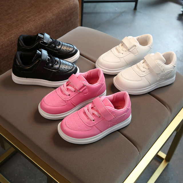 2018 New Children's Shoes Spring Autumn Boys Girls Breathable Comfortable Leisure High Quality Kid Anti-Slippery Sport Shoes 2