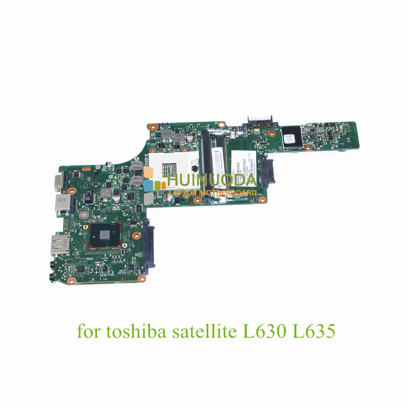 NOKOTION 1310A2338411 V000245100 Main board For toshiba satellite L630 L635 laptop motherboard HM55 DDR3 nokotion genuine h000064160 main board for toshiba satellite nb15 nb15t laptop motherboard n2810 cpu ddr3