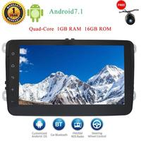 Reverse Camera Eincar 8 Inch Android 7 1 2 Din Car GPS Stereo Head Unit For