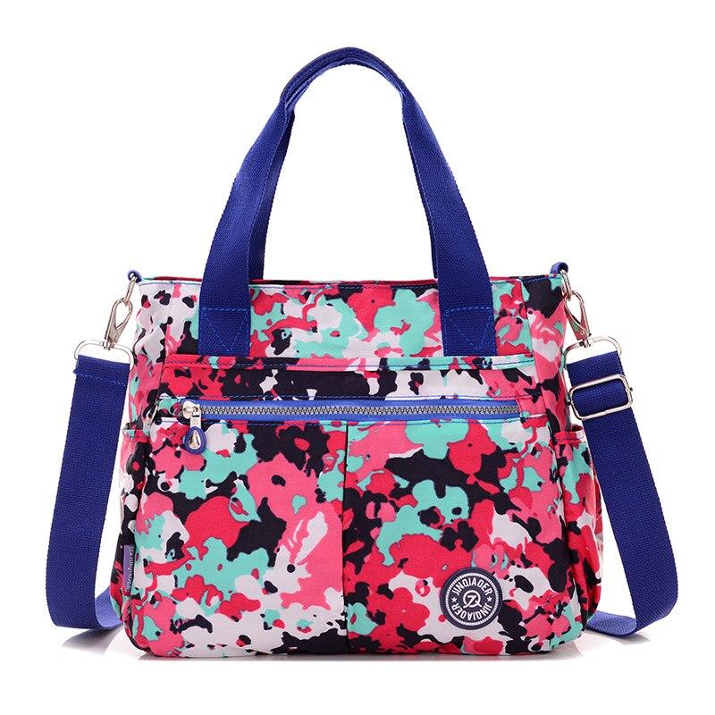 2018 новый известные бренды Водонепроницаемый нейлон Сумка Crossbody сумки Для женщин Курьерские сумки большой емкости дорожная сумка