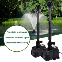 SUNSUN diving fountain pump fish pond landscaping circulation filter oxygenation rockery flow