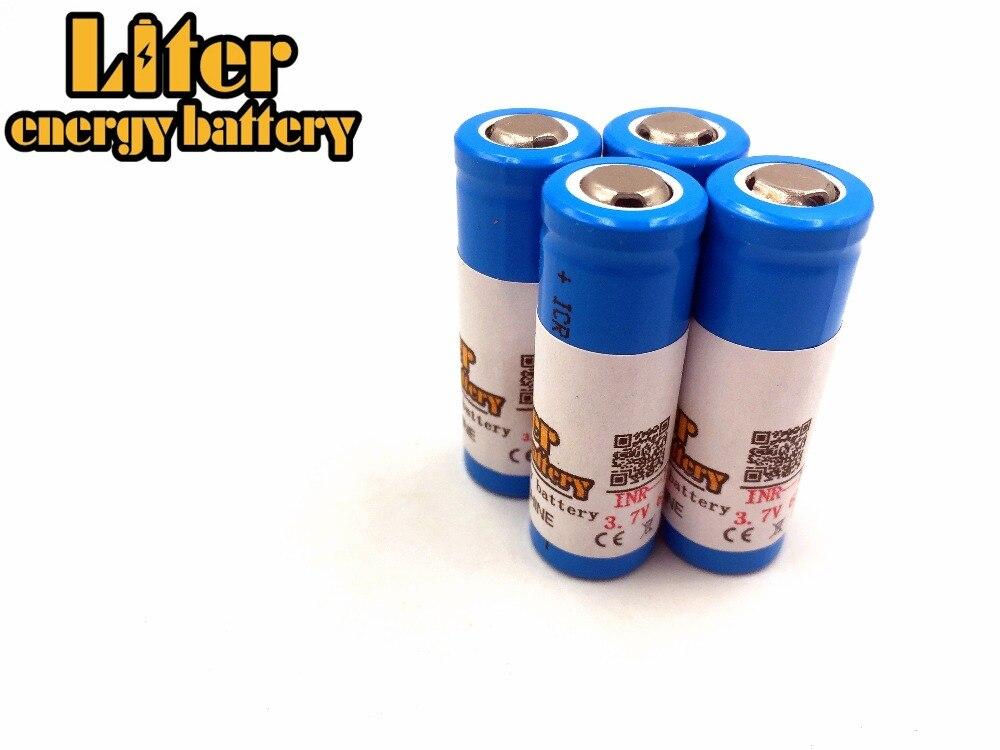 14430 Bateria 3.7 V 650 mAh li-ion Bateria Recarregável Para Iluminação Da Paisagem
