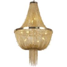 цены Free Shipping Modern Chandelier Lamp Aluminum ATLANTIS Stream Crystal Designer Chandeliers Lighting Living Room Hotel Light