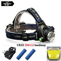 Powerful CREE XM L T6 LED headlight XM-L2 headlamp rechargeable waterproof 18650 battery camping fishing head lamp flash light