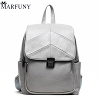 Fashion Lock Backpack Women Backpack High Quality Pu Leather Backpacks For Teenage Girls Schoolbag Backpack Vintage