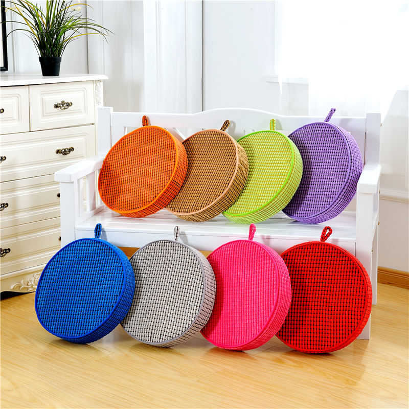 Super Soft Chair Round Cushion Non Slip Quality Seat Cushion/Back Cushion  Chair Pad For Home/Office/Car Muti Colors 2 Sizes In Cushion From Home U0026  Garden On ...