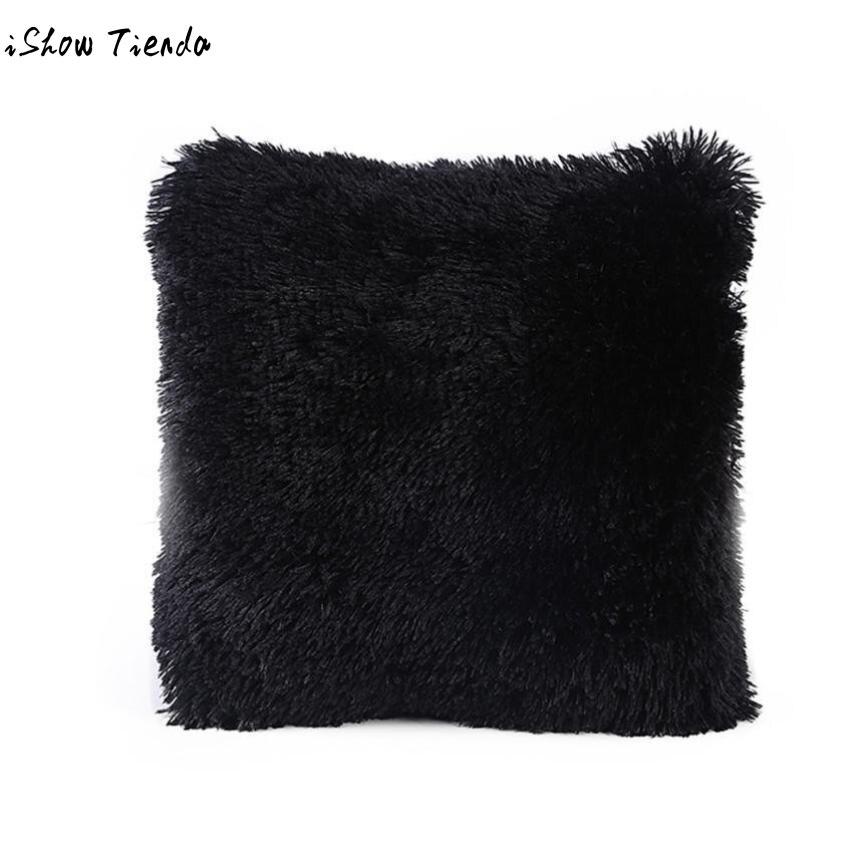 Cushion Candy Colors Sofa Pillow Case Soft Waist Throw Cushion Cover Home Decor Kussens Kussens Voor Op De Bank #7417