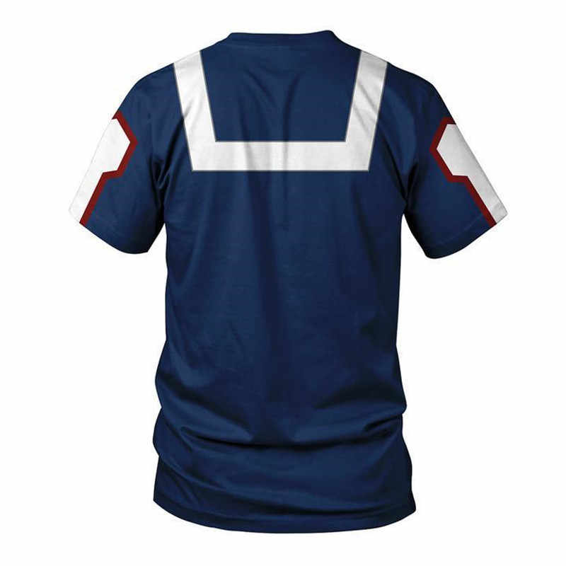 My Hero Giới Học Thuật Midoriya Izuku Cosplay Mỹ Anh Hùng Giới Học Thuật Khoác Hoodie 3D in hình khóa kéo lên áo khoác dành cho nam và nữ thể thao áo len