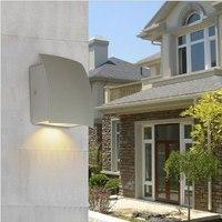 Wysokiej jakości pojedynczej głowicy na zewnętrznych ścianach budynków mieszkalnych lampy balkon tło ogrodzenia ogród oświetlenie kinkiety ścienne WKS-OWL72