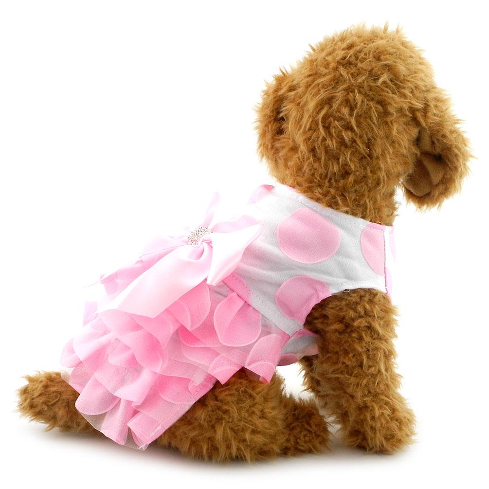 2017 Yorkshire Chihuahua ropa perro pequeño princesa Tutu vestido ...