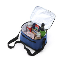 Nylon Lunch Bag Cooler Ice Bag Family Weekend Leisure Lunch Boxes Insulated Thermal Picnic Waterproof Tote