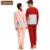Otoño Primavera Pareja Pijamas de Algodón de Manga Larga Pijama pijama Mujer Hombre ropa de Dormir Ropa de Dormir de Las Señoras Camisa y Pantalones de Salón
