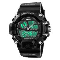 SKMEI Shock Men Sports Watches LED Digital Watch Fashion Brand Outdoor 50M Waterproof Wristwatch Military Relogio
