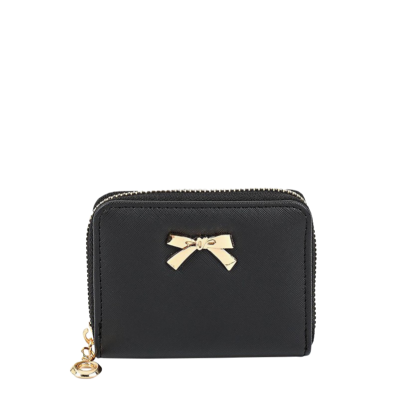 Wallets MODIS M182A00220 wallet clutch coin purse for female TmallFS good design women female solid color mini wallet pu leather purse ladies fashion coin zipper pocket card holder bag popular