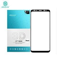 Sfor Samsung Galaxy S9 Plus Tempered Glass SFor Samsung S9 3D Glass Nillkin CP Max Full