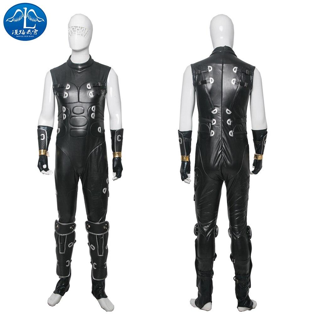 ManLuYunXiao 2017 Cosplay Costume Ninja Gaiden Cosplay Costume RYU Costume Men Jumpsuit Custom Made Adult Free Shipping