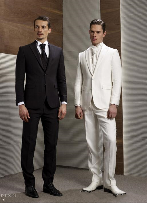 2019 New Arrival High Quality Fashion Best Man Suit Slim Fit Men's Wedding Suits Male Custom Made Groom Tuxedos 3 Pieces