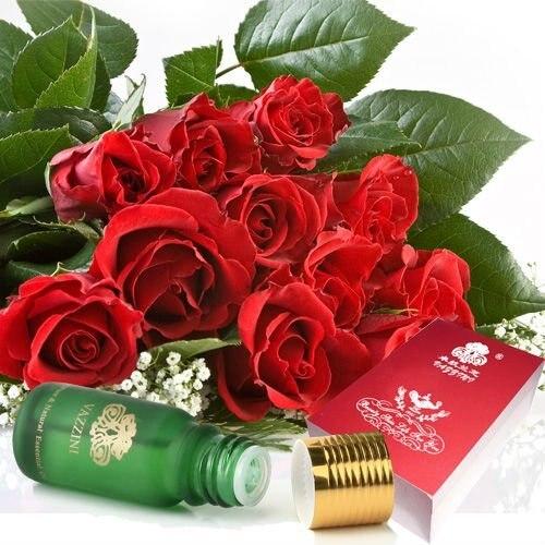 Vazzini Роза Эфирные Масла-Глубокое увлажнение и повысить упругость кожи (D3) 10 мл