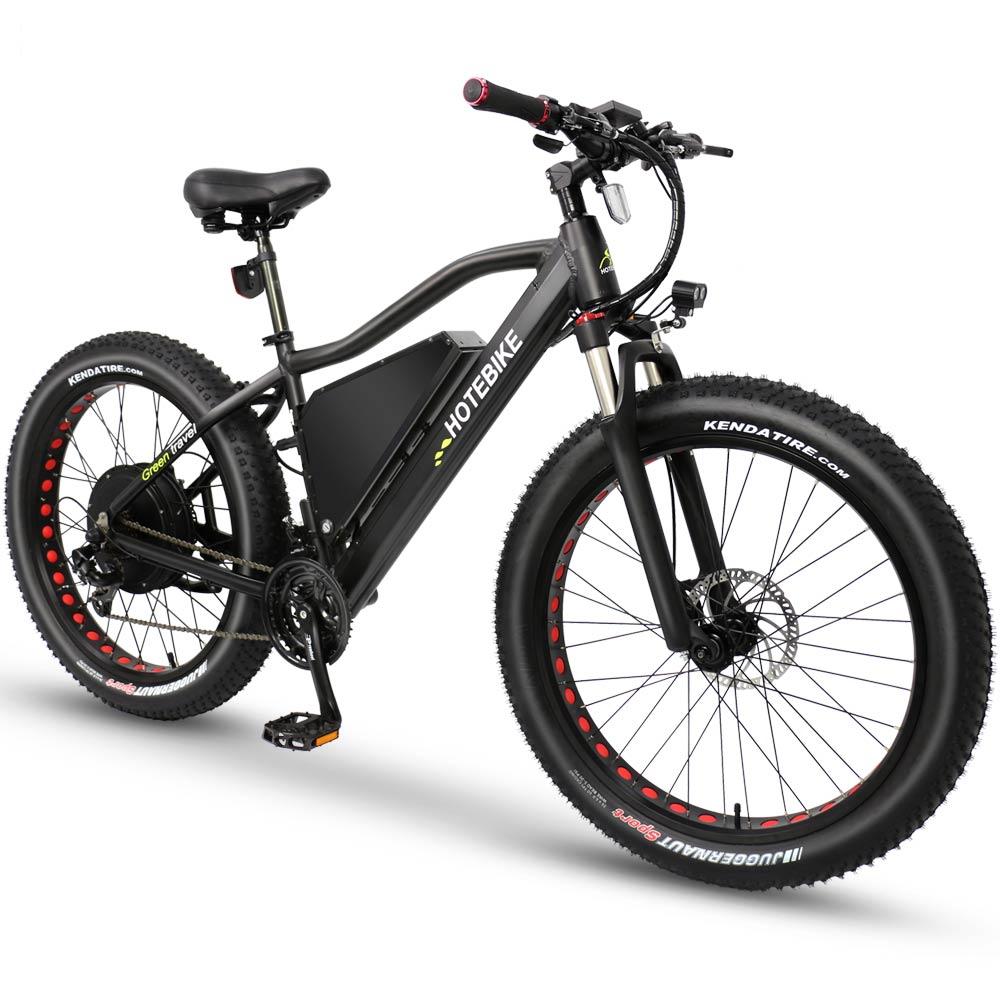26*4.0 pouces gros pneu vélo électrique 60 V 2000 W moteur vitesse max 55 km/h vélo de plage