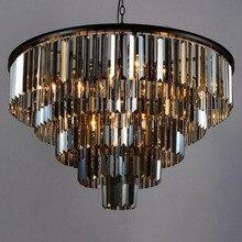 Lustre en Cristal, moderne, élégant K9, taille, article de couleur gris, suspension, lampes de Café