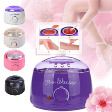 Paraffin Wax Warmer 500C Feet Mini SPA Hand Wax Heater Epilator 100W Rechargeabl