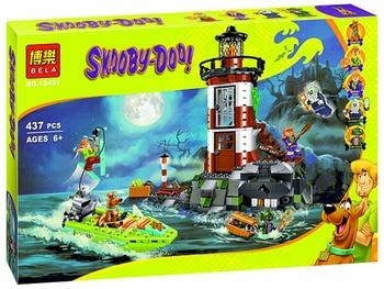 437pcs Scooby-Doo Haunted Light house Building Block Model Kits  Toys Compatible with Legoes Scooby Doo Marvel figures скуби ду лего