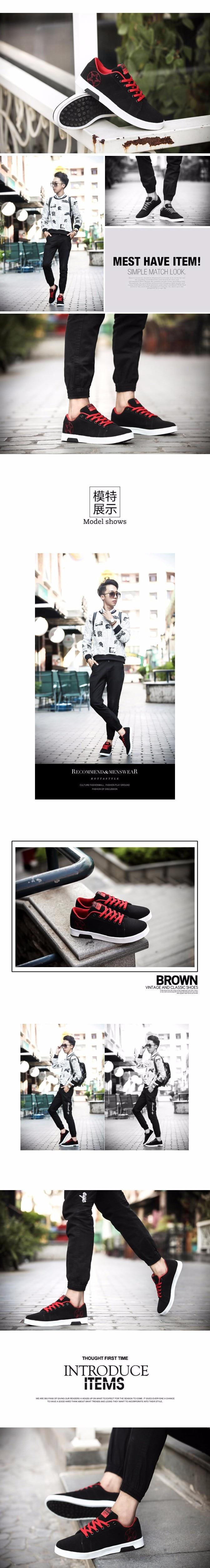 Geguistle 2018 Spring Autumn Fashion Shoes Men's Casual Shoes Breathable New Men Canvas Shoes Gay Male Lace up Shoes5