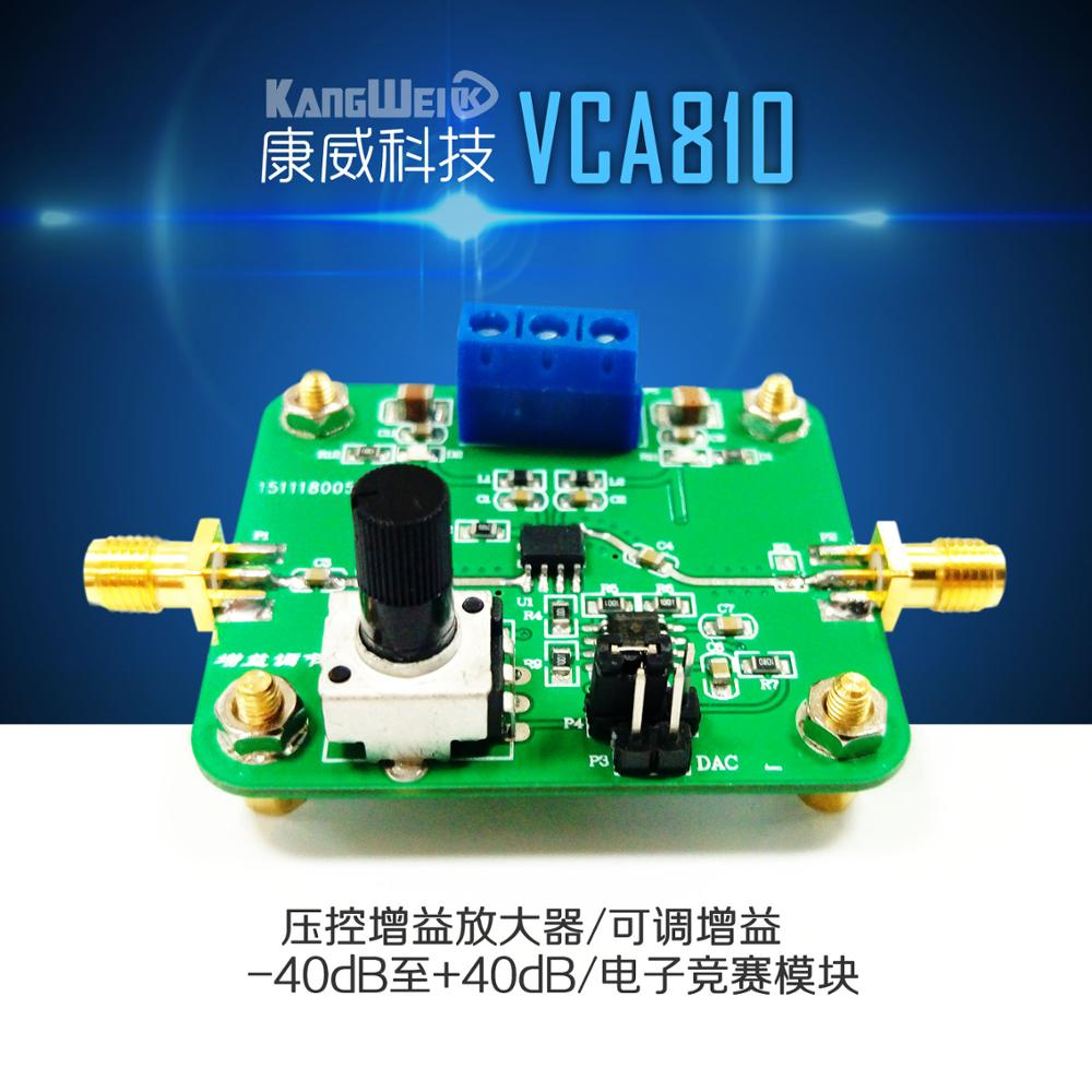Voltage Controlled Gain Video Amplifier