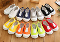 Insole13 ~ 16.3 cm primavera outono crianças shoes crianças casual shoes para meninos e meninas do bebê sapatas de lona shoes pure doce