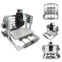 DC 12V DIY Mini 3 Axis CNC Engraving Milling Machine Assembly Kit Metal Engraver PCB Milling
