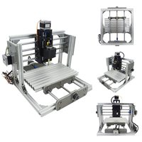DC 12V DIY Mini 3 Axis CNC Engraving Milling Machine Assembly Kit Metal Engraver PCB Milling