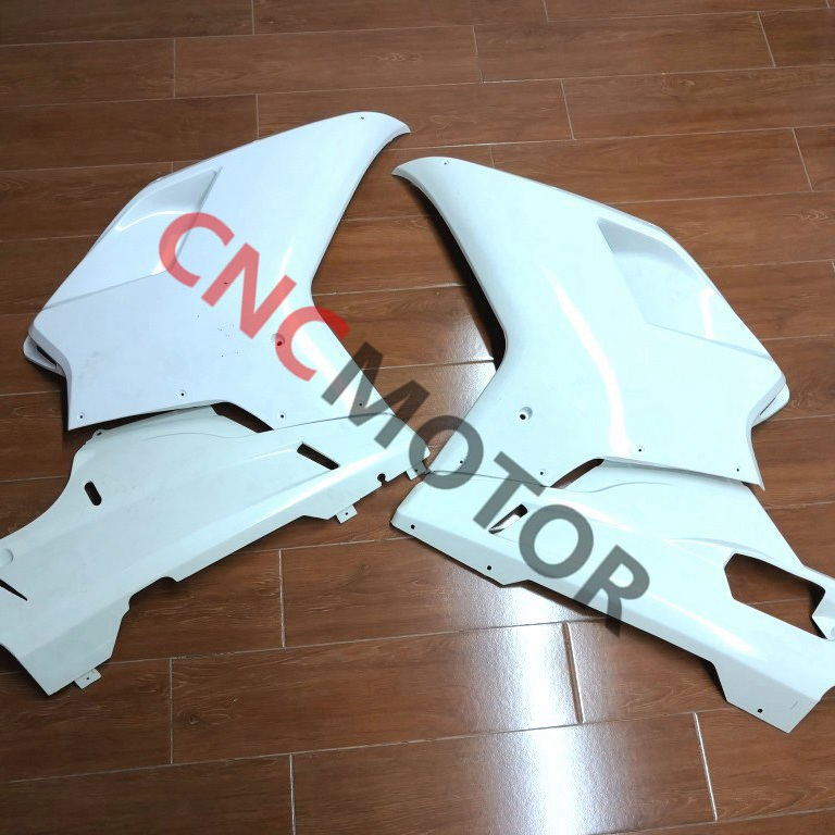 Individual Parts Unpainted 1098 848 Fairing kit Left & Right Side Fairings For Ducati 1098 848 1198 2007 2012 07 08 09 10 11 12