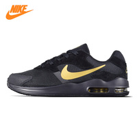 NIKE AIR MAX GUILE Men's Running Shoes, Outdoor Sneakers Shoes,Black & Gold, Breathable Lightweight Non slip 916787 008