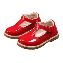 Compra Red Shoes Baratos Leather Patent Girls De For Lotes xEdBeroWQC