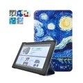 Original caso enseada de couro para sony xperia tablet z2 + pc suporte magnético smart cover + protetor de tela + stylus pen